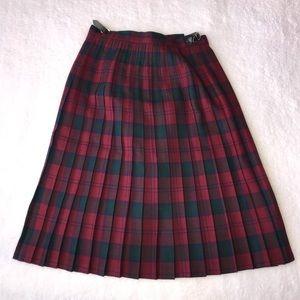 Vintage Highland Home Industries Scotland Skirt 12